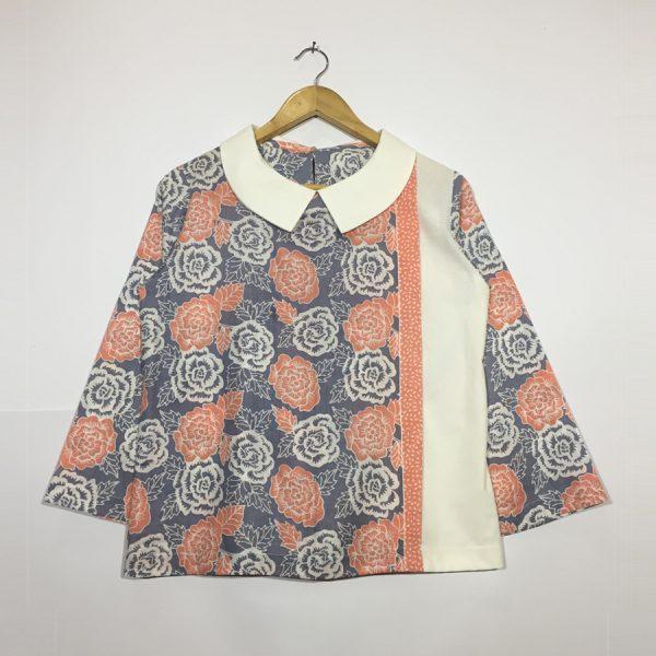 atasan batik wanita - jasmin blouse