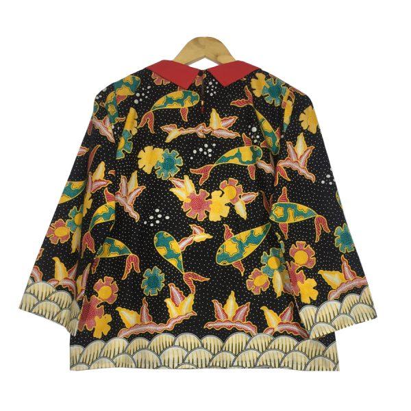 Atasan batik wanita komet blouse